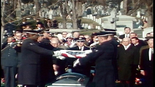 Arlington Ceremony for Apollo 1 crew members
