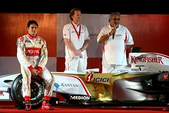 Launch of Force India F1 car