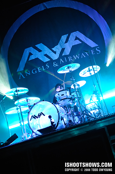 Angels & Airwaves @ the Pageant -- 2008.02.28