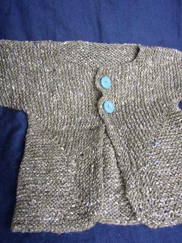 BSJ tweed 2 buttons
