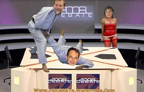 debate elecciones 2008 rajoy machaca a zETApé FaKeMaTe
