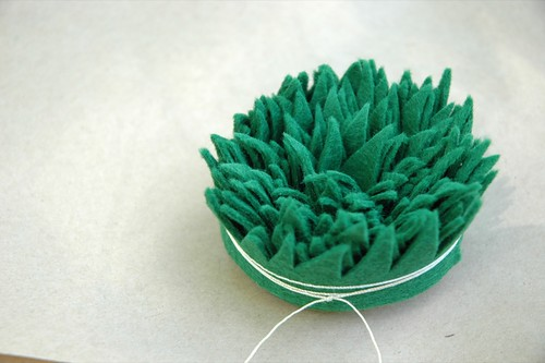 felt grass bundle