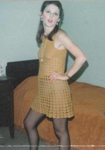 Sally crochet dress