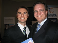 Brendon Burchard with Roy Reid