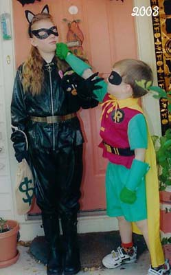 2003 - Cat Woman & Robin