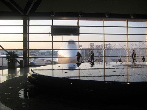 Quintessential Detroit Airport Shot