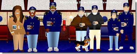 Molly's Big News ©2007 New Codgers