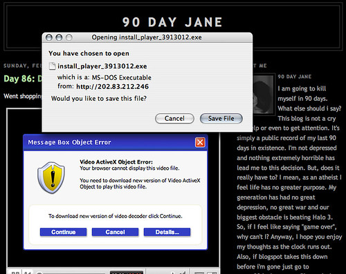 Virus on 90-day-Jane