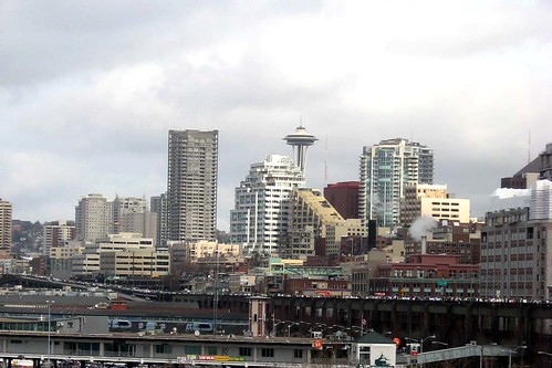 From the Alaskan Way Viaduct