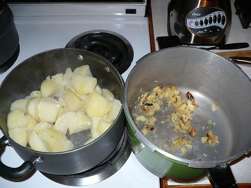 Garlic and Potatoes