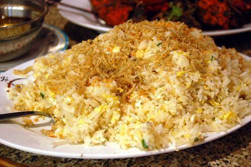 Silver Fish Fried Rice