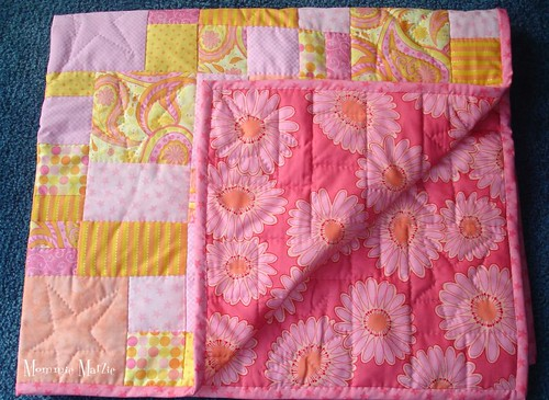 Baby Quilt from Mom