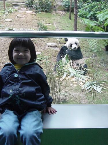 Bethany and the Panda