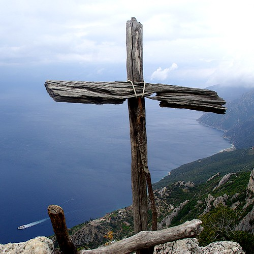 Wooden Cross, Mt Athos 2007