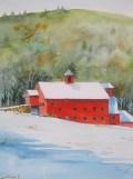 Willie Gray's Barn by Walt Cudnohufsky