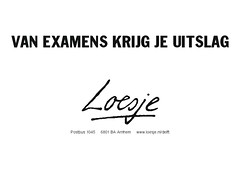 examensuitslag