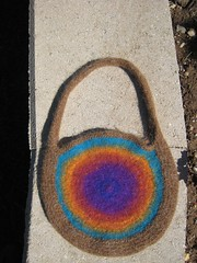 Bag_2007Aug9_PiAreRound1Felted