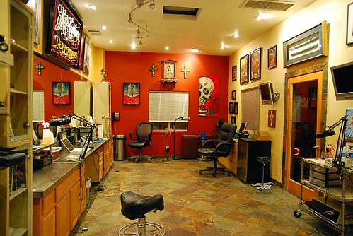 Mister Cartoon's Tattoo Shop ~ Los Angeles