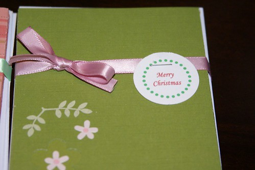 Green Note Card Set