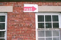 RANT, this way