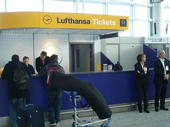 Lufthansa luggage check-in