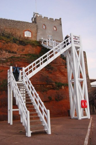 Sam Climbing Jacob's Ladder