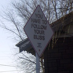 You Have To Follow Your Bliss