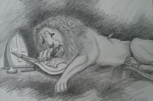 森美_憂傷的獅�