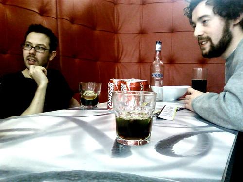 Ben, Ian, Wodka & Coke.