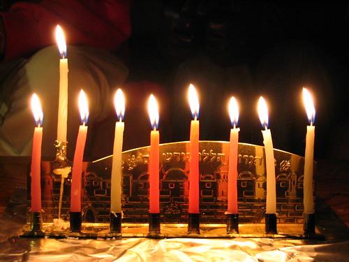 Hanukkah 2007 - Night 8