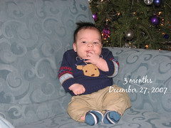 Jack at 3 months