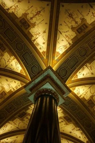 Plafond au KHM