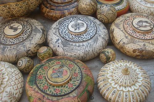 Jaisalmern Fort1-7當地手工藝品