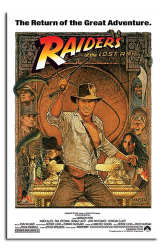 0014 Indiana Jones Raiders Of The Lost Ark Movie Poster
