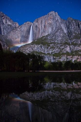 Upper Falls Moonbow
