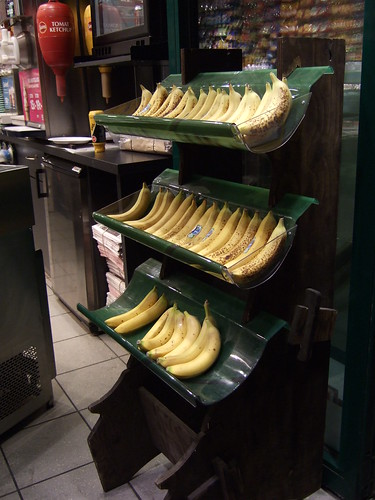 Bananas in a Swedish shop