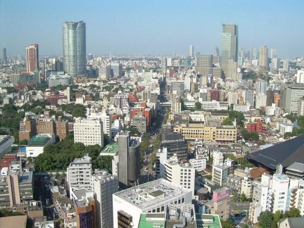 El skyline de Tokyo