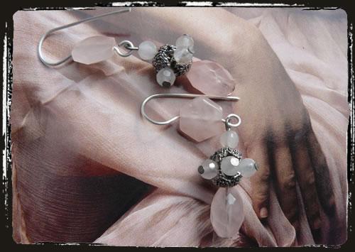 Orecchini rosa - Pink earrings AMHDRES