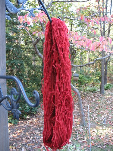 Black Cherry Kool-Aid Dyed Yarn