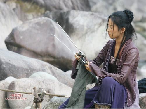 Yifei Liu as Golden Sparrow