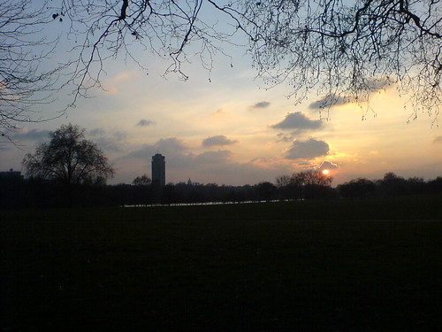 hyde park at dawn