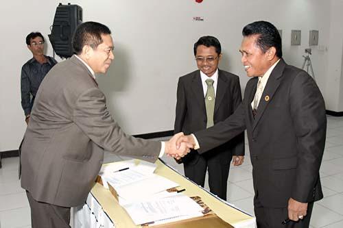 Serah Terima Ketua DPD dari Periode-2 ke Periode-3