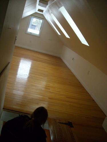 Inside loft