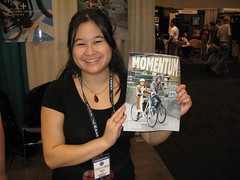 Tonia at Momentum Magazine