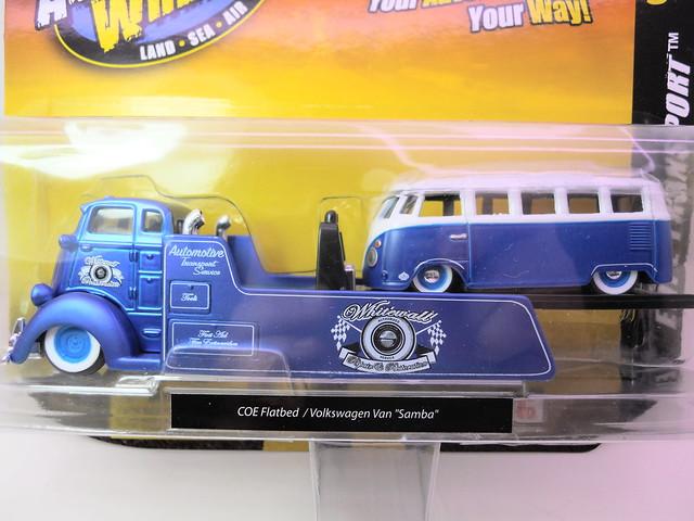 Maisto elite transport coe flatbed vw van samba bus