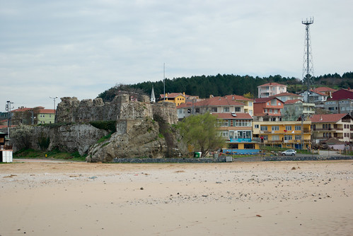 Riva castle and Riva village, Blacksea, Istanbul, Pentax K10d