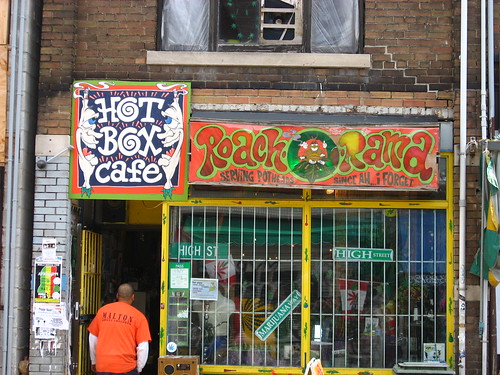 A colorful shop in Kensington Market