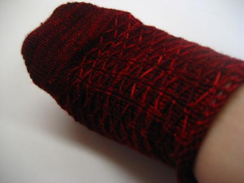 Leyborn Socks WIP