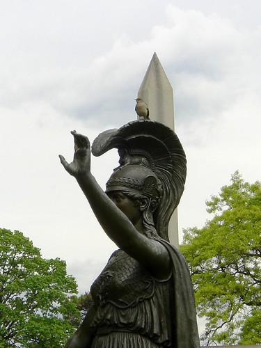 Minerva In Green-Wood
