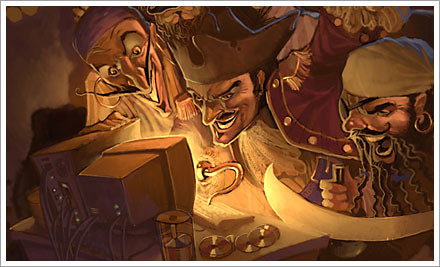 modern dar pirates